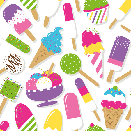 candy bar: ice cream collection pattern