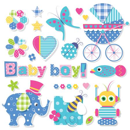 colección de la ducha del bebé