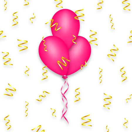 Balloon Seamless Pattern Happy Birthday Party Holiday Decoration