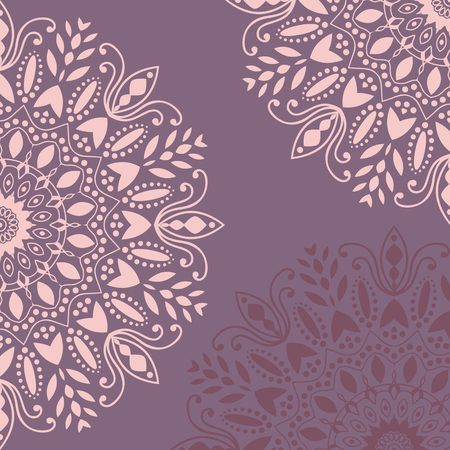 mandala: Background mandala vector chakra tibetan mandala kaleidoscope medallion yoga india henna hands henna pattern henna design mehndi arabic henna flower background floral design flowers vintage retro Illustration