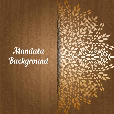 henna background: Background mandala