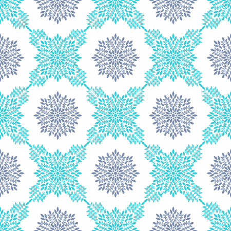 Arabic pattern. Islamic, indian, japanese motifs. Mandala seamless pattern. Ethnic bohemian background. Wrapping and scrapbook paper. Abstract flower. Print for fabric. Vector illustration Illustration