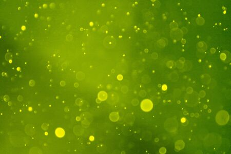 abstract bokeh unfocused background with light bulb bubbles