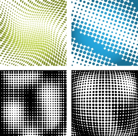 doted: Vector illustration of abstract halftone background