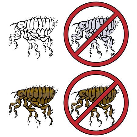 bloodsucker: No Fleas Prohibition Sign