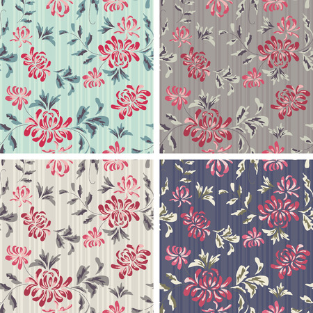 sappy: Seamless Background with flower Pattern