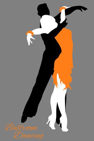 Ballroom Dancing, Couple dancing Latin