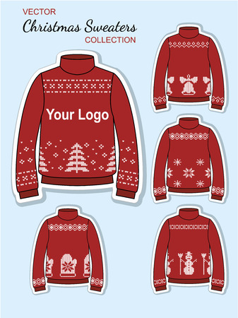 xmas: Christmas Design jersey Sweaters Illustration