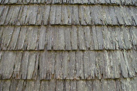 roof profile: Old Wooden roof background texture