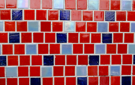 Background with colorful ceramic tiles