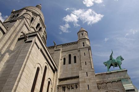 sacre: Sacre Coeur church in Paris, France.