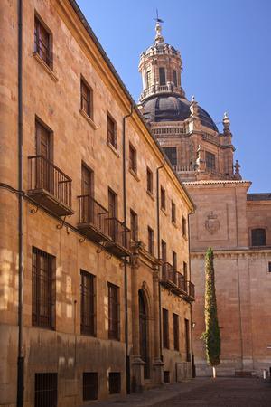 salamanca: Picturesque town of Salamanca in Spain. Stock Photo
