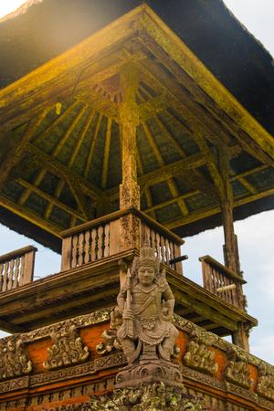 balinese: Balinese Tower at Pura Taman Ayun
