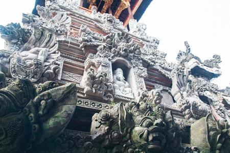 balinese: Balinese God statue Tower