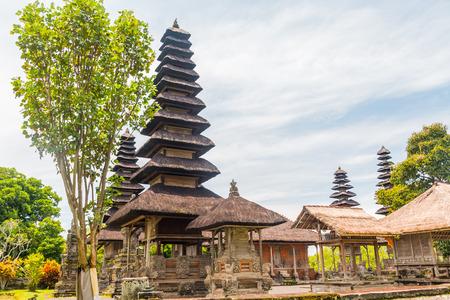 pura: Old Temple, Pura Taman Ayun Temple, Bali Stock Photo