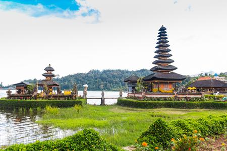 balinese: Beautiful Balinese Ulun Danau at Bali, Indonesia