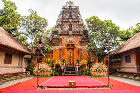 Inside The Ubud Palace, Bali, Indonesia