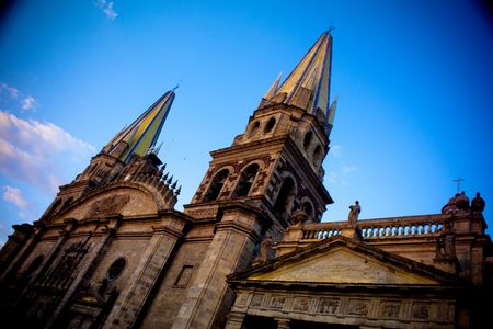 Guadalajara Cathedral catholic in Mexico