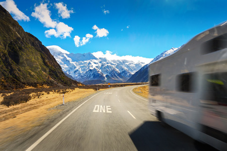 stone road: Travel With Camper van During Holiday in New Zealand is wonderful things to do with our Family