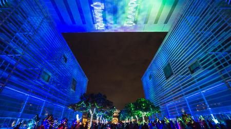 Malaysia : Light and Motion Putrajaya (LAMPU) was held from 30 December 2016 to 1 January 2017 at Putrajaya Malaysia