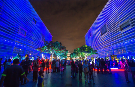 festival moment: Malaysia : Light and Motion Putrajaya (LAMPU) was held from 30 December 2016 to 1 January 2017 at Putrajaya Malaysia