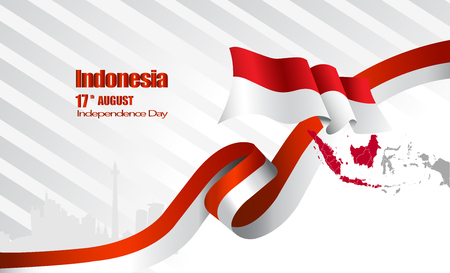 Vektor rote Farbe Flaches Design, Abbildung der Flagge. Vektorgrafik