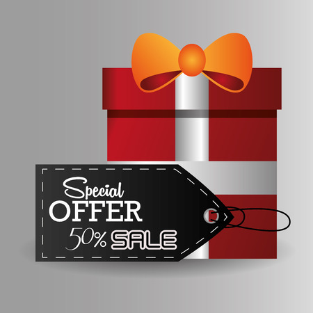 shop sign: Black Friday concept with sale icons design, vector illustration 10 eps graphic.