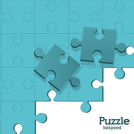 jigsaw pieces: Puzzle concept with jigsaw pieces icons design, vector illustration 10 eps graphic.