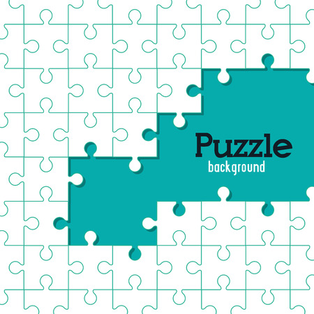 puzzle jigsaw: Puzzle concept with jigsaw pieces icons design, vector illustration 10 eps graphic.