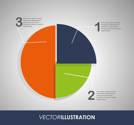 infomation: Infographic concept with  options design, vector illustration 10 eps graphic. Illustration