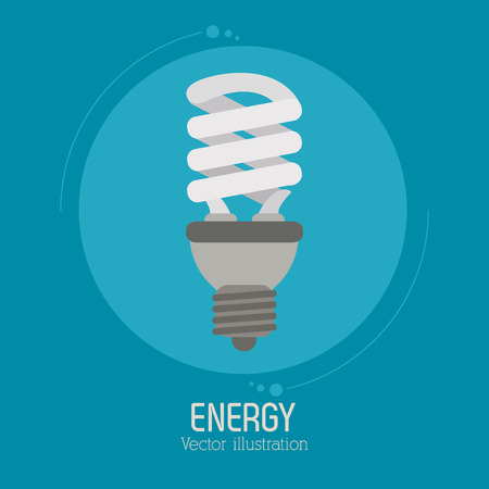 energy save: Save energy concept with eco icons design, vector illustration 10 eps graphic. Illustration