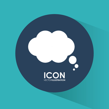 inspiration: Think different concept with bubble  icons design, vector illustration 10 eps graphic. Illustration