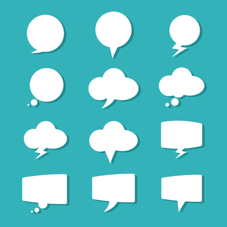 different thinking: Think different concept with bubble  icons design, vector illustration 10 eps graphic. Illustration