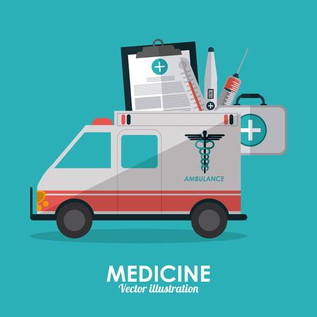 historia clinica: Concepto médico con el diseño de iconos, ilustración vectorial eps 10 gráfico.