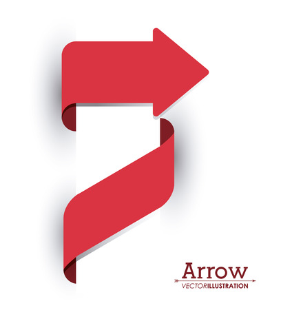 orientation marker: Direction concept with arrow design