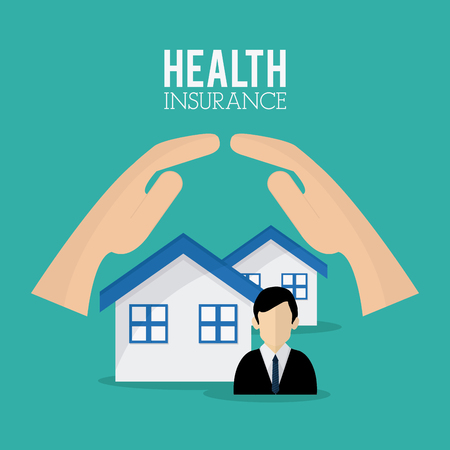 value system: Insurance concept with icons  design, vector illustration 10 eps graphic.