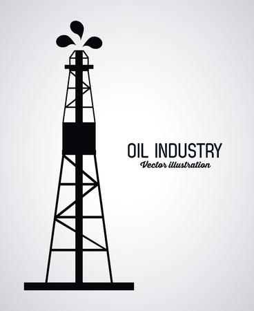 concept de pétrole avec des icônes de l'industrie conception, illustration vectorielle 10 eps graphique. Vecteurs
