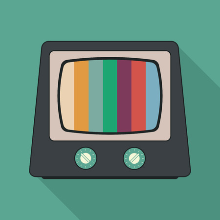 old television: Retro and old Television concept design, vector illustration 10 eps graphic. Illustration
