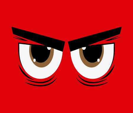 Eyes concept with expression design, vector illustration 10 eps graphic. Stock Vector - 50787184