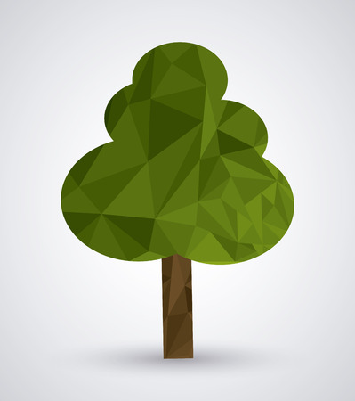 rural area: Low Poly concept with abstract icon design, vector illustration 10 eps graphic.