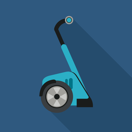 two wheeler: Segway  concept with icon design, vector illustration 10 eps graphic.