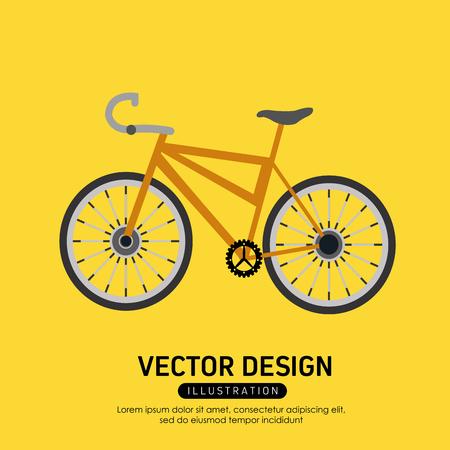 Bike concept with icon design