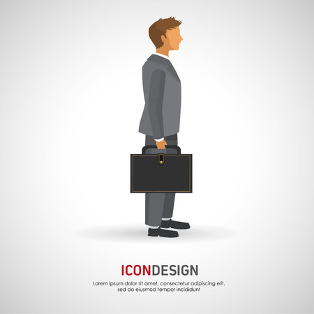 Business concept with business people design