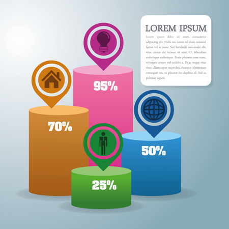 Infographic concept with icon design