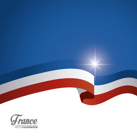 France concept with culture icons design, vector illustration 10 eps graphic.