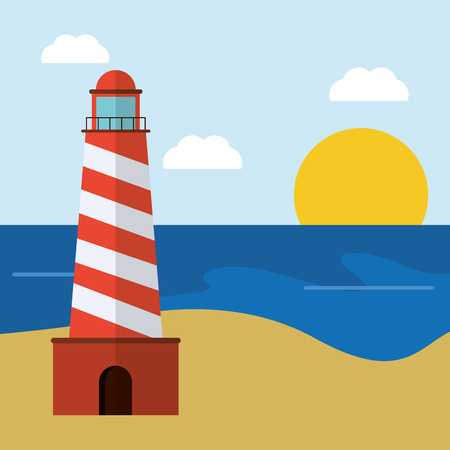 Vacation concept with summer icons design, vector illustration 10 eps graphic.
