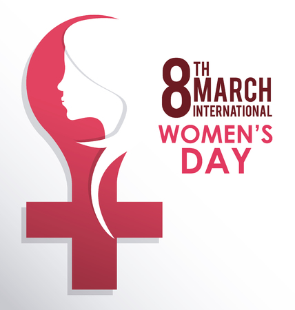 Womens day  concept with ornament icons design, vector illustration 10 eps graphic.