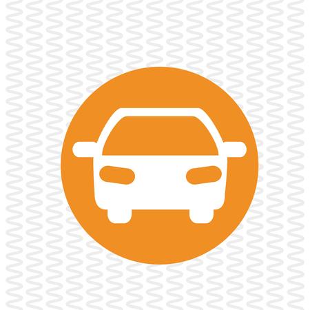 Concept de transport avec le design d'icône