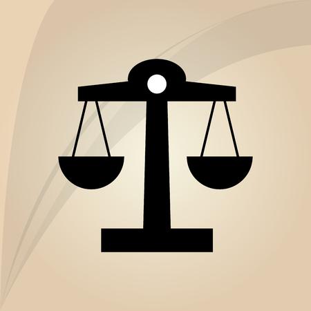 balance concept: Balance concept with icon design, vector illustration 10 eps graphic.
