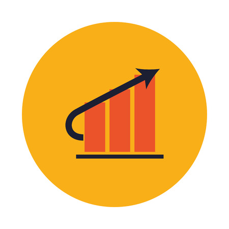 demographics: infographic concept with icon design, vector illustration 10 eps graphic. Illustration